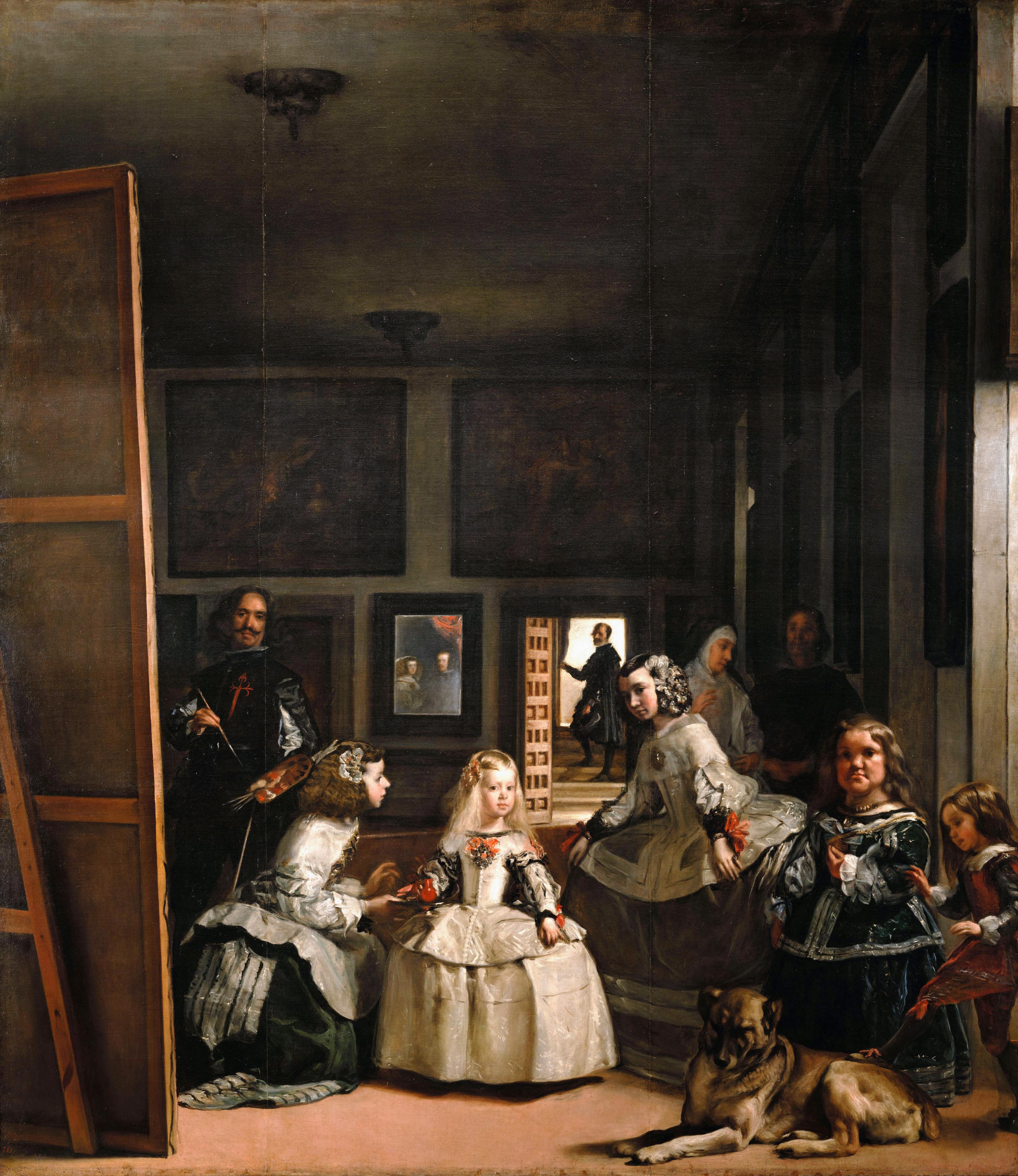 Las Meninas door Diego Velázquez, ca. 1657